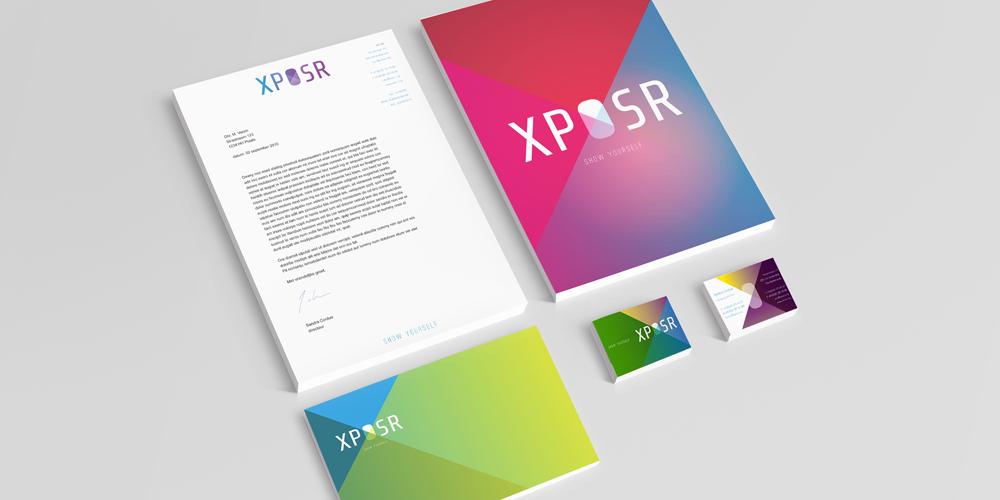 Huisstijl ontwerp XPOSR