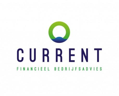 Logo ontwerp Current financieel bedrijfsadvies