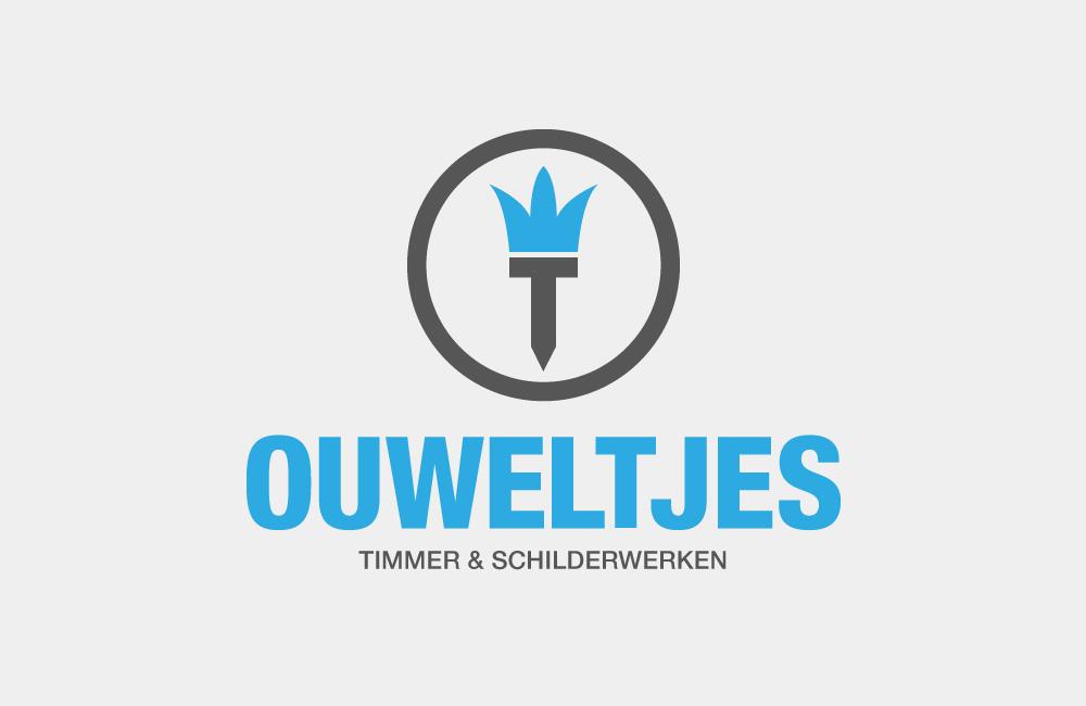 Logo ontwerp schilder Ouweltjes