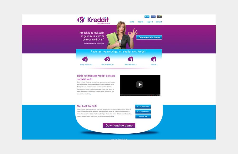 Webdesign Kreddit