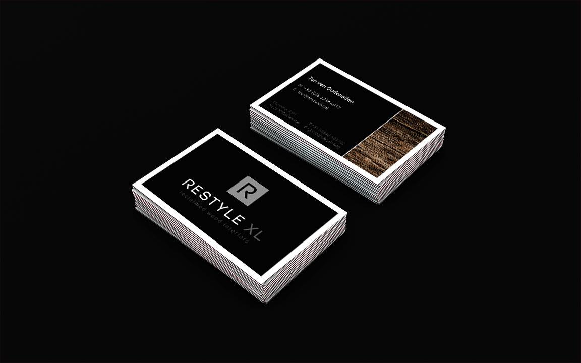 Visitekaart en huisstijl ontwerp Restyle XL