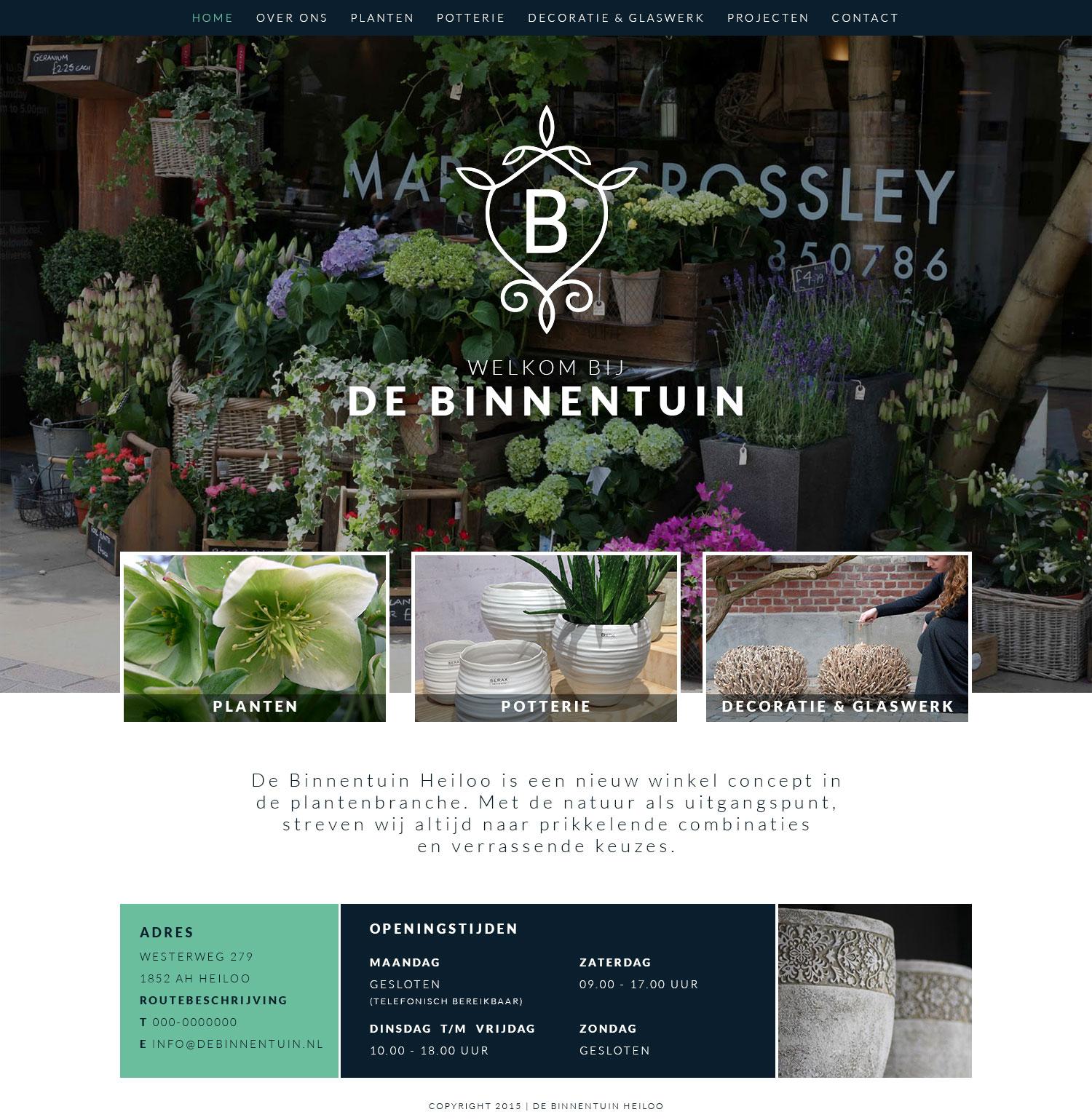 webdesign-wordpress-homepage-debinnentuin