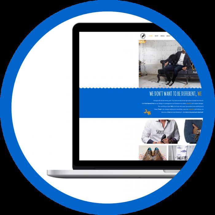 WooCommerce webshop webdesign AFNF