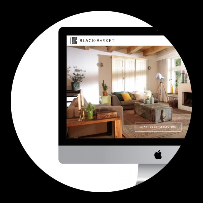 Logo ontwerp WordPress website WooCommerce Black Basket