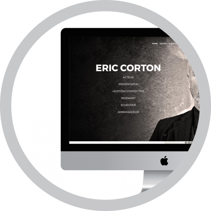 WordPress website webdesign Eric Corton