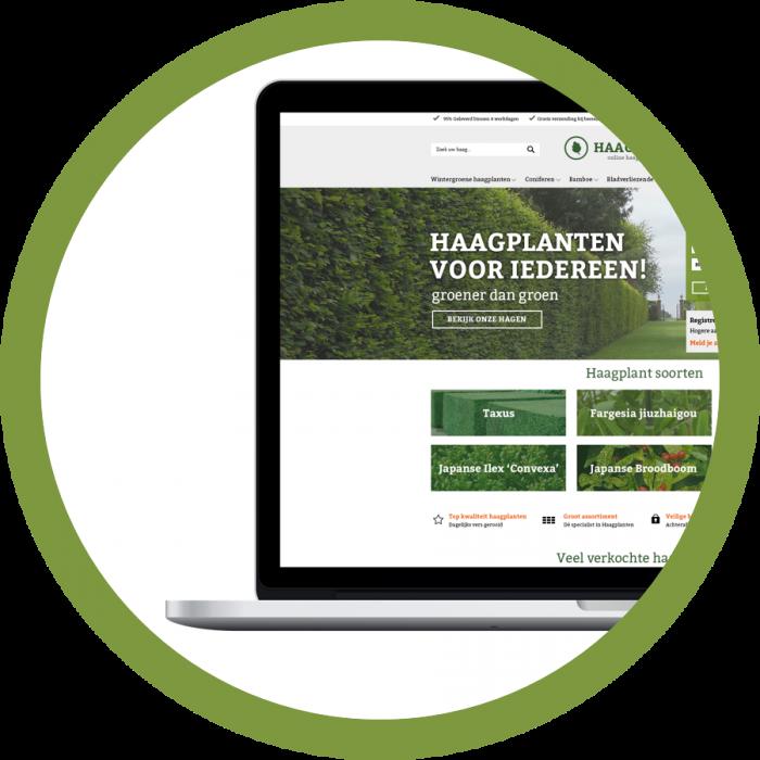 WooCommerce webshop webdesign Haagplanten