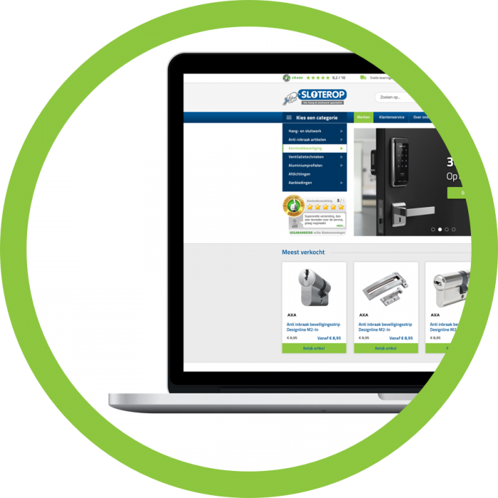 WooCommerce webshop webdesign Sloterop