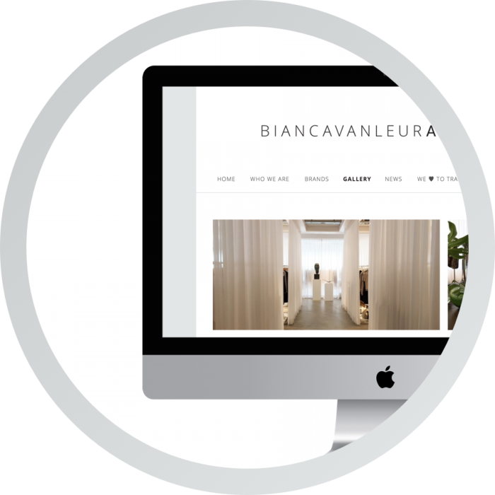 WordPress webdesign website Bianca van Leur