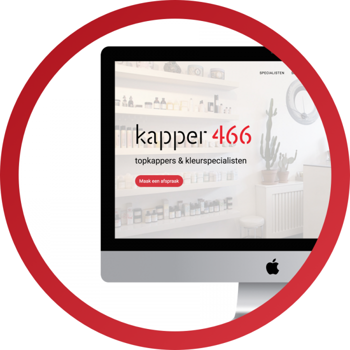WordPress design Kapper466