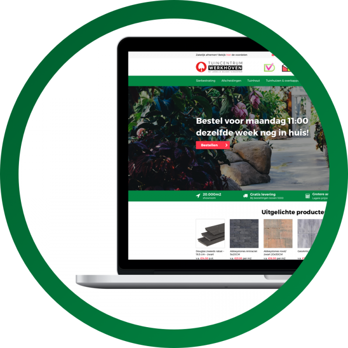 WooCommerce design Werkhoven