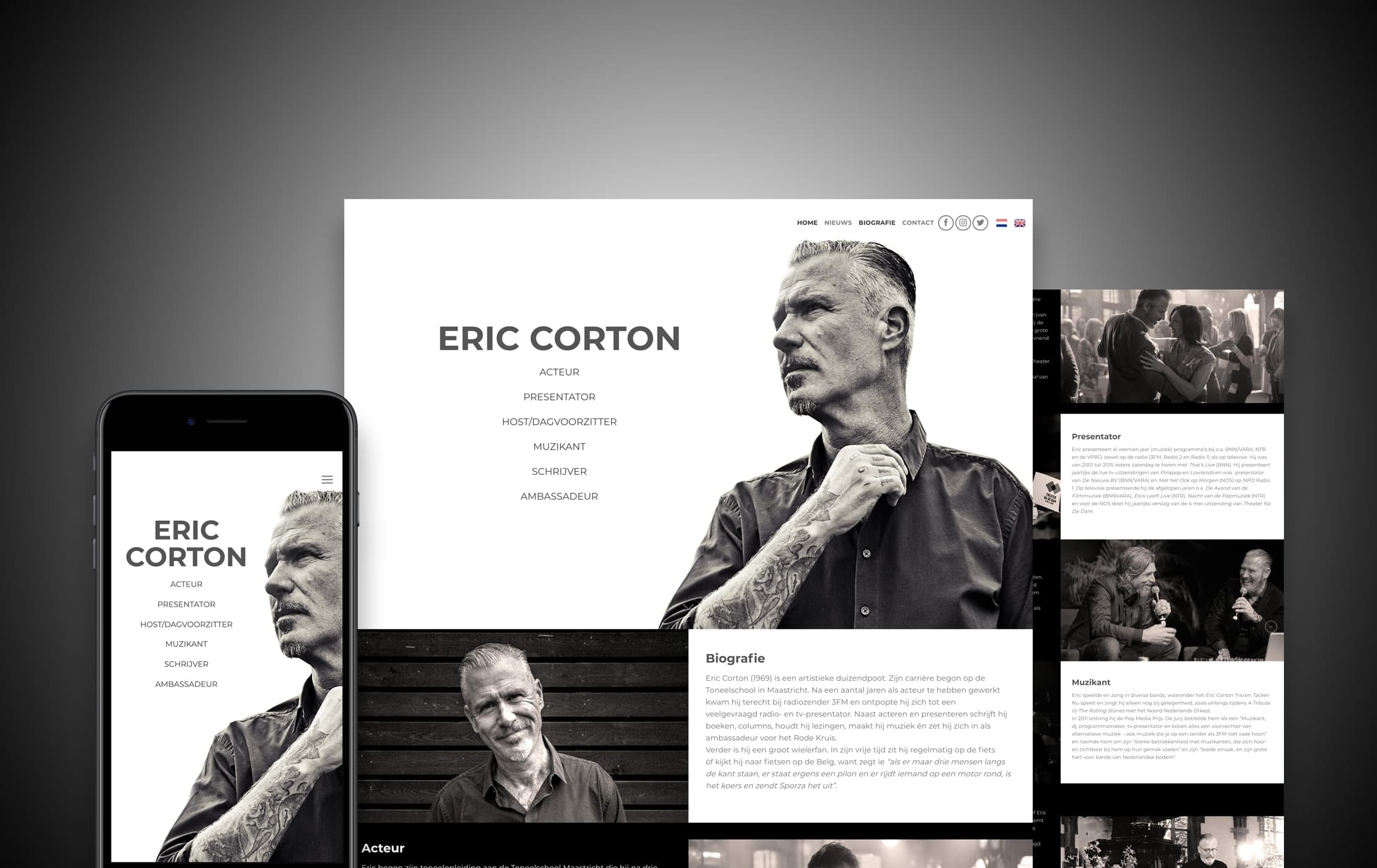 wordpress_website_eric_corton_dreamlab_portfolio